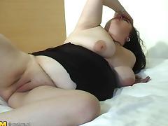 Chubby dark-haired chick Eliza still masturbates once a day