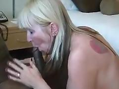 Wife in vegas hotel with new bbc husband films pt1