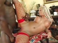 White Slut Fucked By Monster Black Dick
