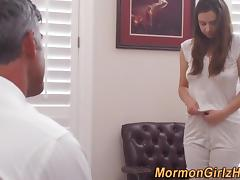 Rubbing mormon climaxes