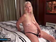 Old ladies grannies Amy and Cindy solo masturbation compilation sextoys