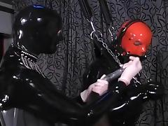 Mistress Puts A Slave Through His Paces