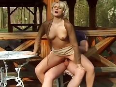 Austrian, Austrian, Blonde, Blowjob, Couple, Facial