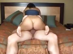 Brunette, Big Tits, Brunette, Creampie, Hardcore, Latina