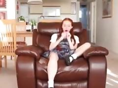 Daughter caught using toy but stepdad forgives her!