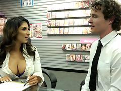 Bra, Big Tits, Blowjob, Bra, Couple, Doggystyle