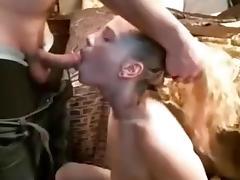 Bed, Bed, Blonde, Blowjob, Deepthroat, Penis