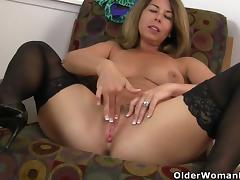 American, American, Mature, MILF, Mom, Pussy