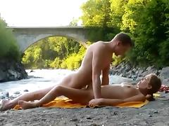 Exotic Amateur video with Beach, Voyeur scenes