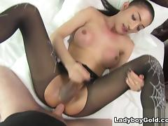 Nutty in Halloween Rimjob and - LadyboyGold