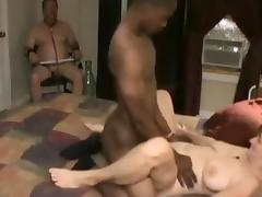 BBW, BBW, Blowjob, Brunette, Couple, Cuckold