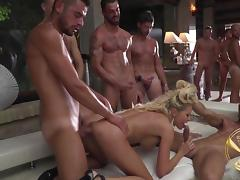 Teen, Big Tits, Blonde, Deepthroat, Gangbang, Group