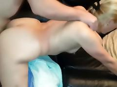 Playmate fucks me nice and hard while hubby films
