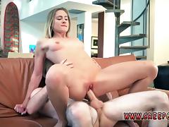 Man dominated spanked and chair bondage blindfold These slut