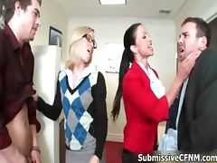 Boss, Babe, Banging, Blowjob, Boss, CFNM