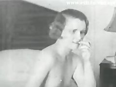 Lesbian Vintage 1931 with 2 bored Housewives