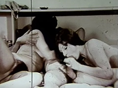 Wife's Friend Joins for a FFM Threesome 1960