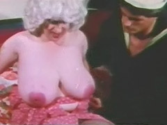 Mature with Enormous Big Boobs and Sailor 1960