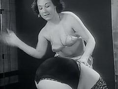 1950, Ass, Babe, Classic, Fetish, Lesbian