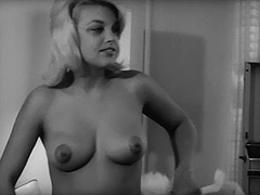Morning Routine of Pretty Babe 1960