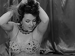 1950, Ass, Brunette, Classic, Public, Teen