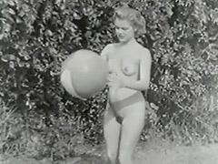 1950, Anal, Blonde, Blowjob, Classic, Gangbang