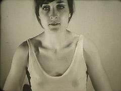 1960, Babe, Brunette, Classic, Masturbation, POV