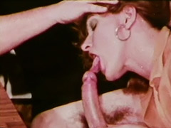 1970, Ass, Blonde, Blowjob, Classic, Hairy