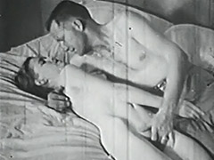 1950, Classic, Group, Hairy, Hardcore, Masturbation
