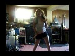Dancing more tease than striptease