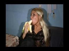 Banana, Banana, BBW, Blonde, Chubby, Chunky