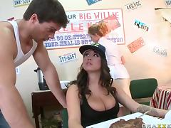 Fat, Big Tits, Brunette, Fat, Lick, Shaved Pussy