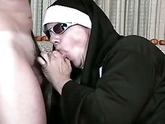 Anal nun fucking