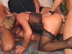 Boss, Boss, German, Horny, Stockings