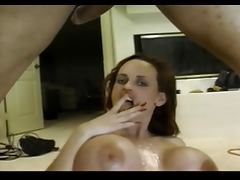 Vintage Huge Tits Mesha Lynn Takes A Big Load