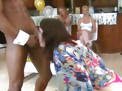 Latin Cock Orgy on Dancing Bear