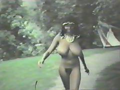 Black Skinny Enormous Tits