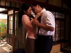 Loving Japanese Wife Sewaka Hayase Pleasing Her Husband
