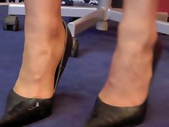 Cum In Leather Heels