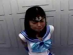 Sailor Mercury Bukkake