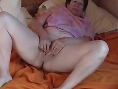 Bed, Amateur, BBW, Bed, Masturbation