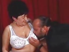 Chunky granny wants a hard cock