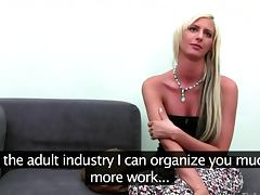 Euro amateur strips for a porn audition