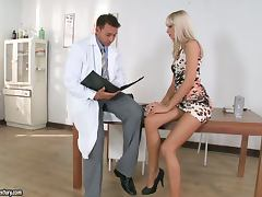 Doctor, Blowjob, Couple, Curvy, Doctor, Doggystyle