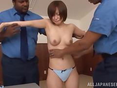 Office, Asian, Cop, Hardcore, Interracial, Japanese