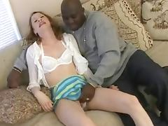 White Chick Fucked And Facialled By Black Dick !