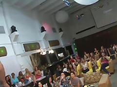 CFNM amateurs at euro blowjob party sucking cock