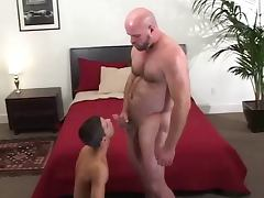 old and young daddy fuck boy