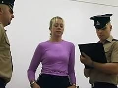 UK Delinquents Stripsearched