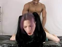 goth - When a Goth participates in sex games, then do expect a lot of roughness